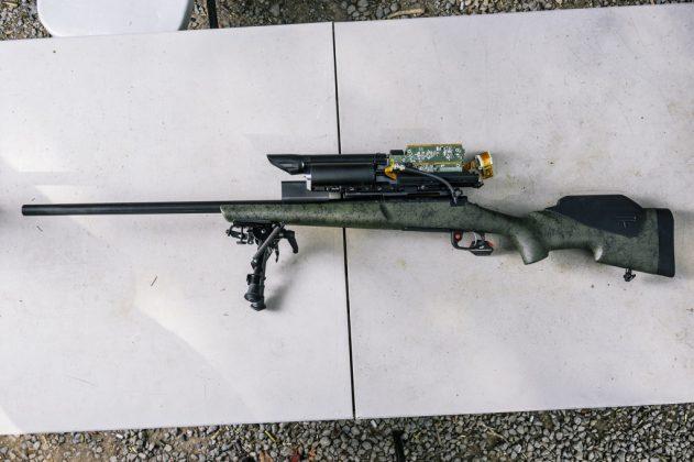 Smart Rifle Cyber-Kinetic