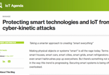 Protecting smart technologies and IoT from Cyber-Kinetic attacks