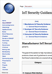 OWASP-IoT-Security-Guidance-Web