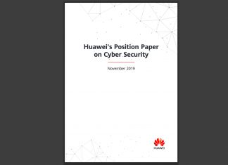 Huawei Position Paper Cybersecurity 5G