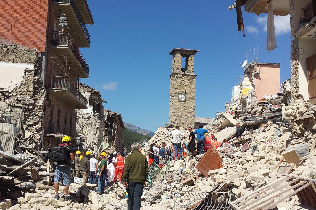 Italian Earthquake Risk Management