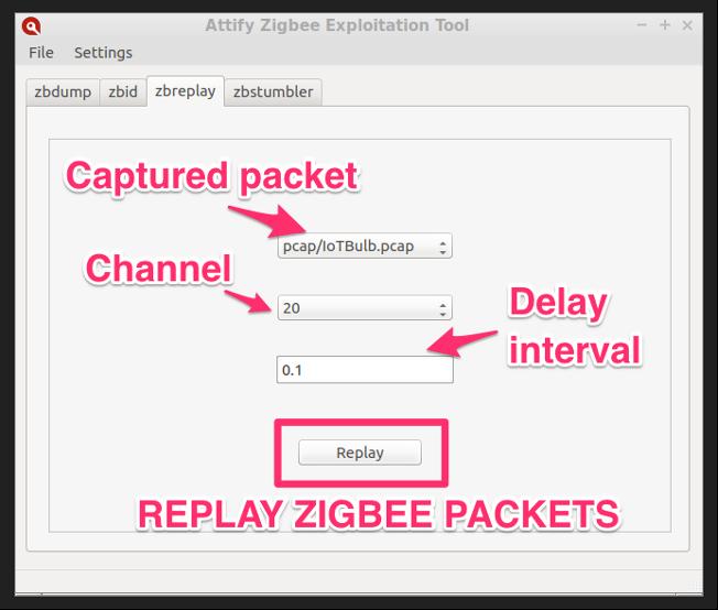 Zigbee network pen-testing tool